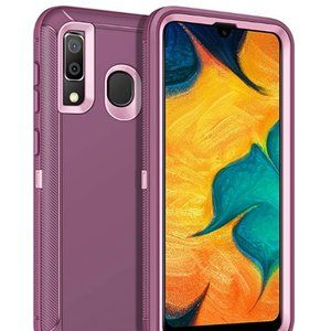 Samsung Galaxy A20 Heavy Duty Phone Case